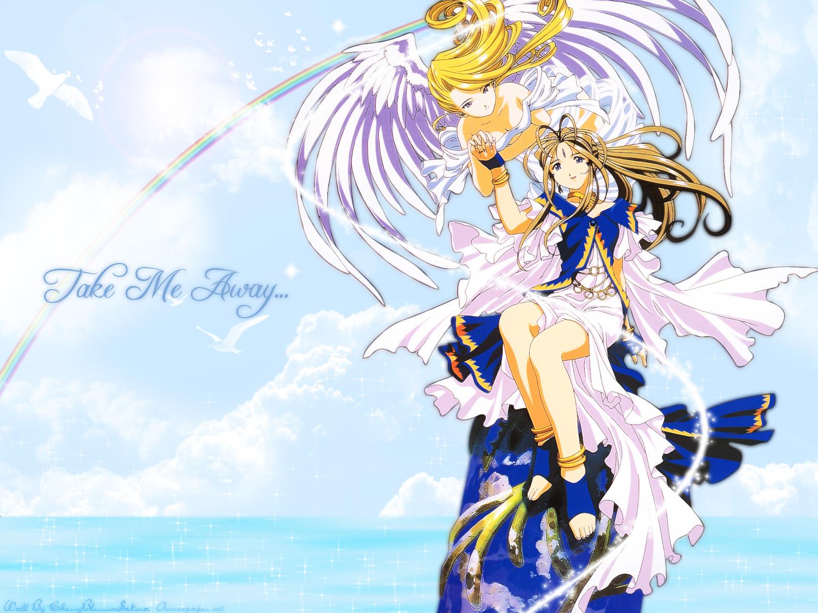 Ah My Goddess 01  Hot Fairies, Sexy Angels Free Wallpaper -6500