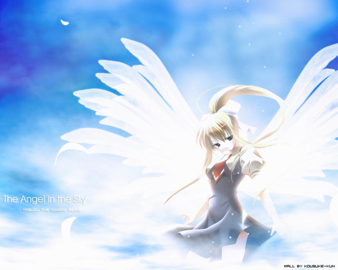 Air Manga Anime Wallpaper 01