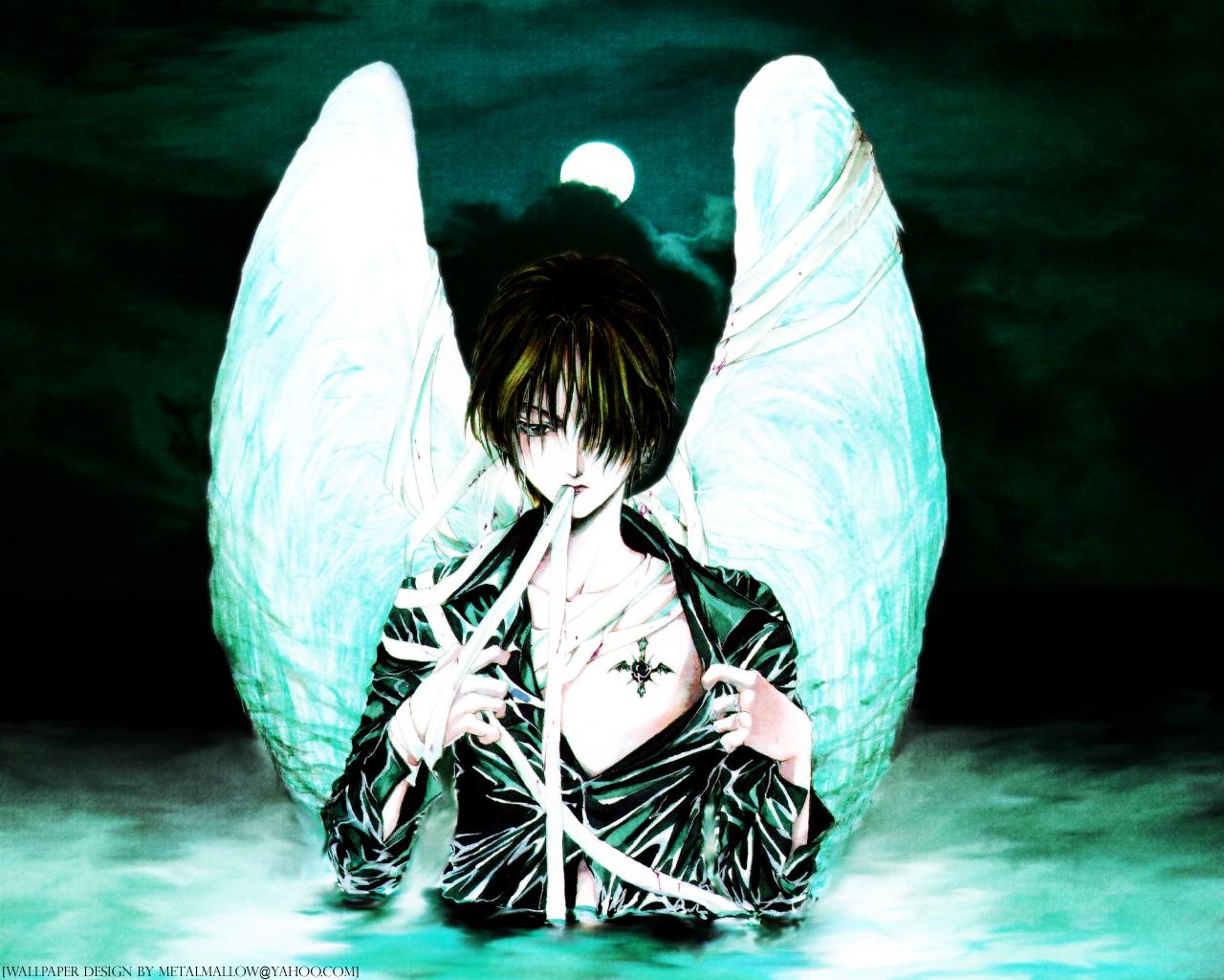 Angel Sanctuary  Manga Fantasy Dark Angels Wallpaper Free