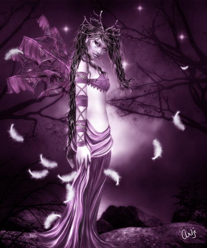 Dark Fairies And Angels The Image Kid