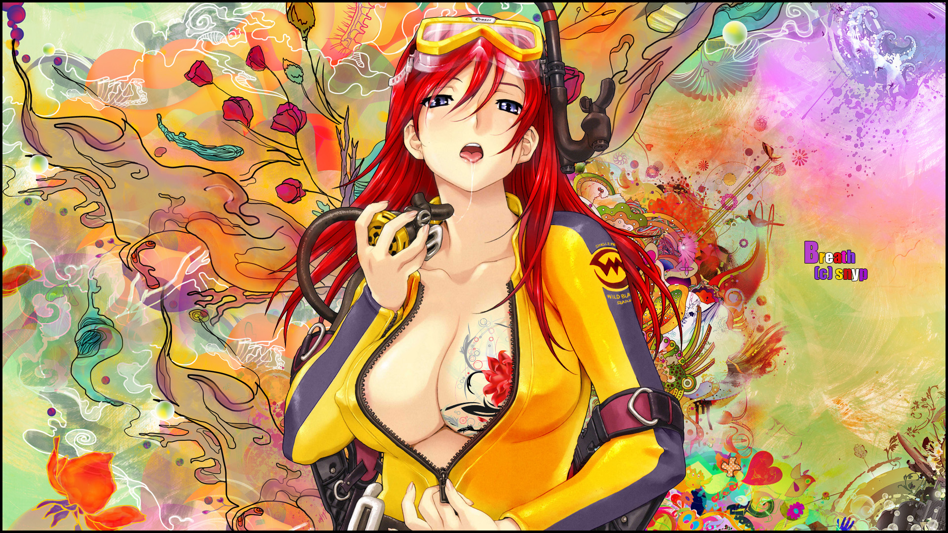 Sexy Anime Girls High Resolution Wallpaper 02  Imagez Only-2349