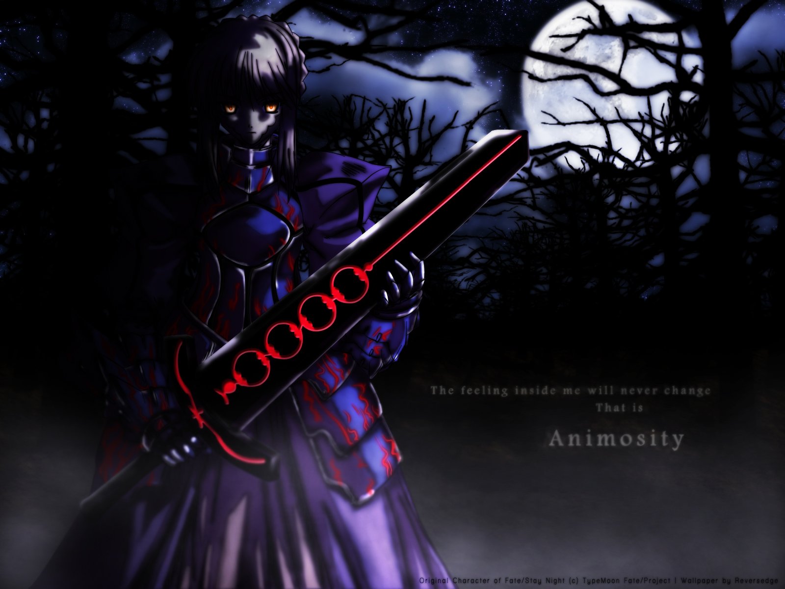 Fate stay night sexy girl warrior wallpaper 02 imagez only - Fate stay night wallpaper ...