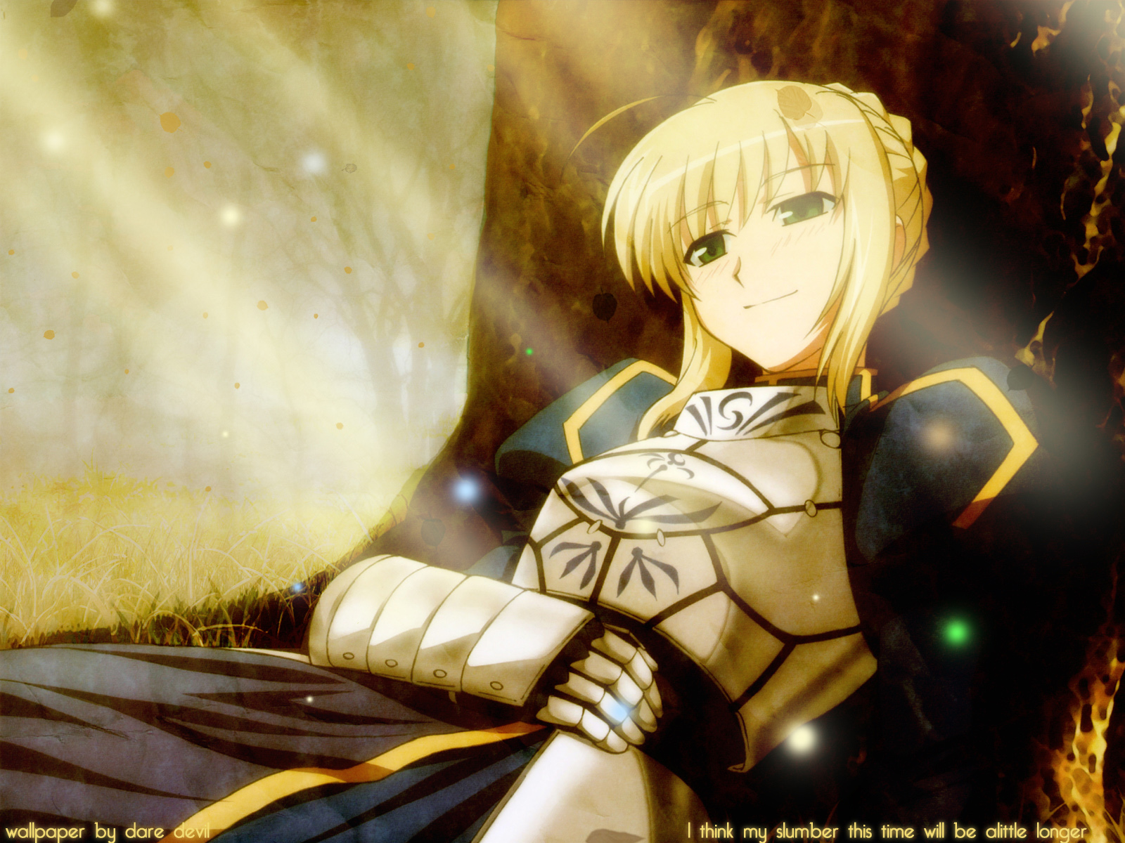 Fate Stay Night 04 Beautiful Anime Girls Free Hd Wallpaper