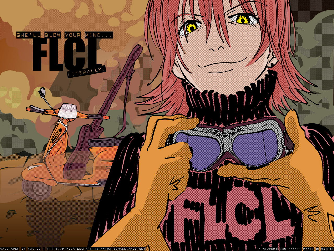 301 moved permanently - Flcl wallpaper ...