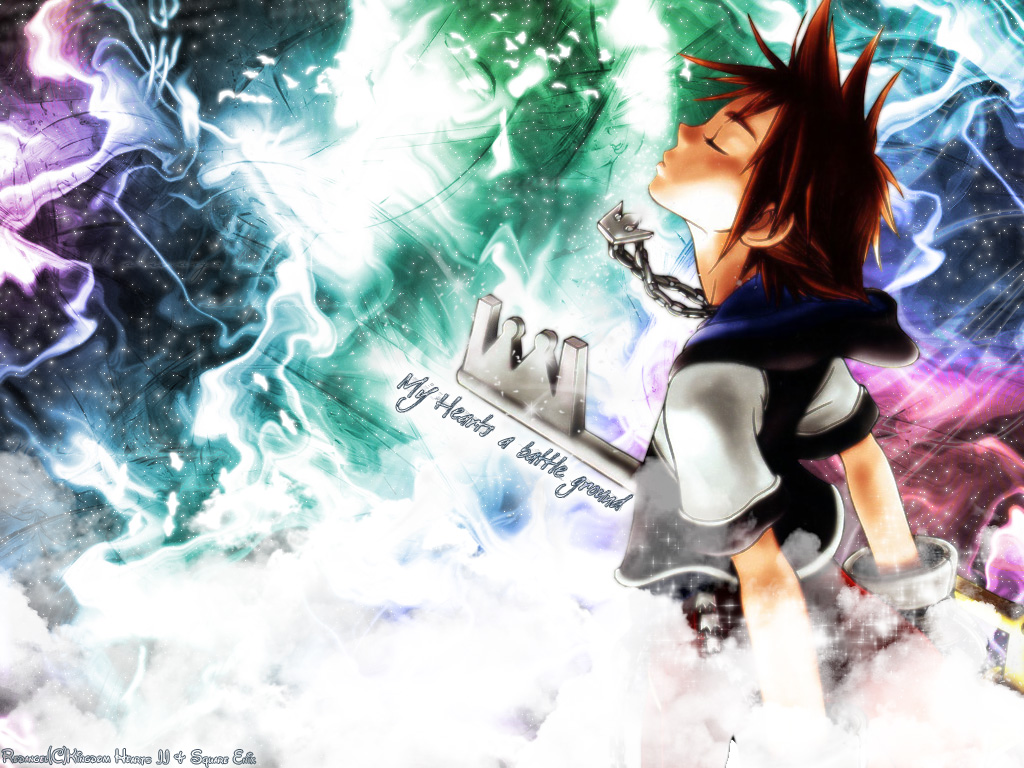 Kingdom Hearts : Free PC Game Desktop Background 04