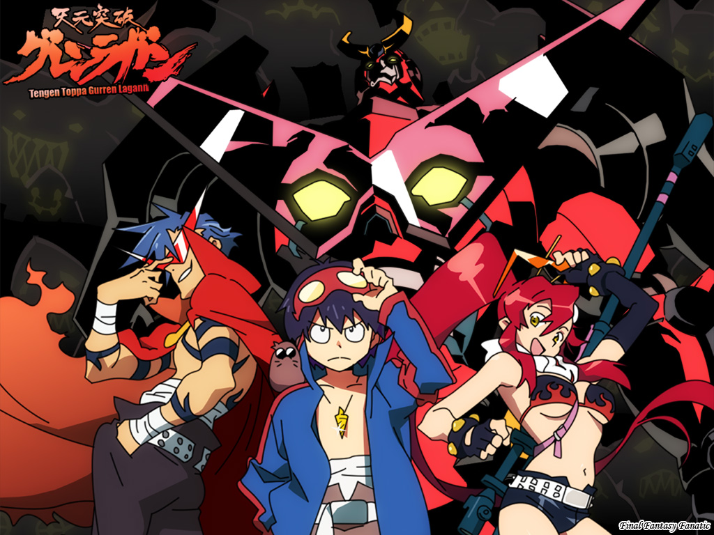 Gurren Lagann Anime Iphone Wallpaper