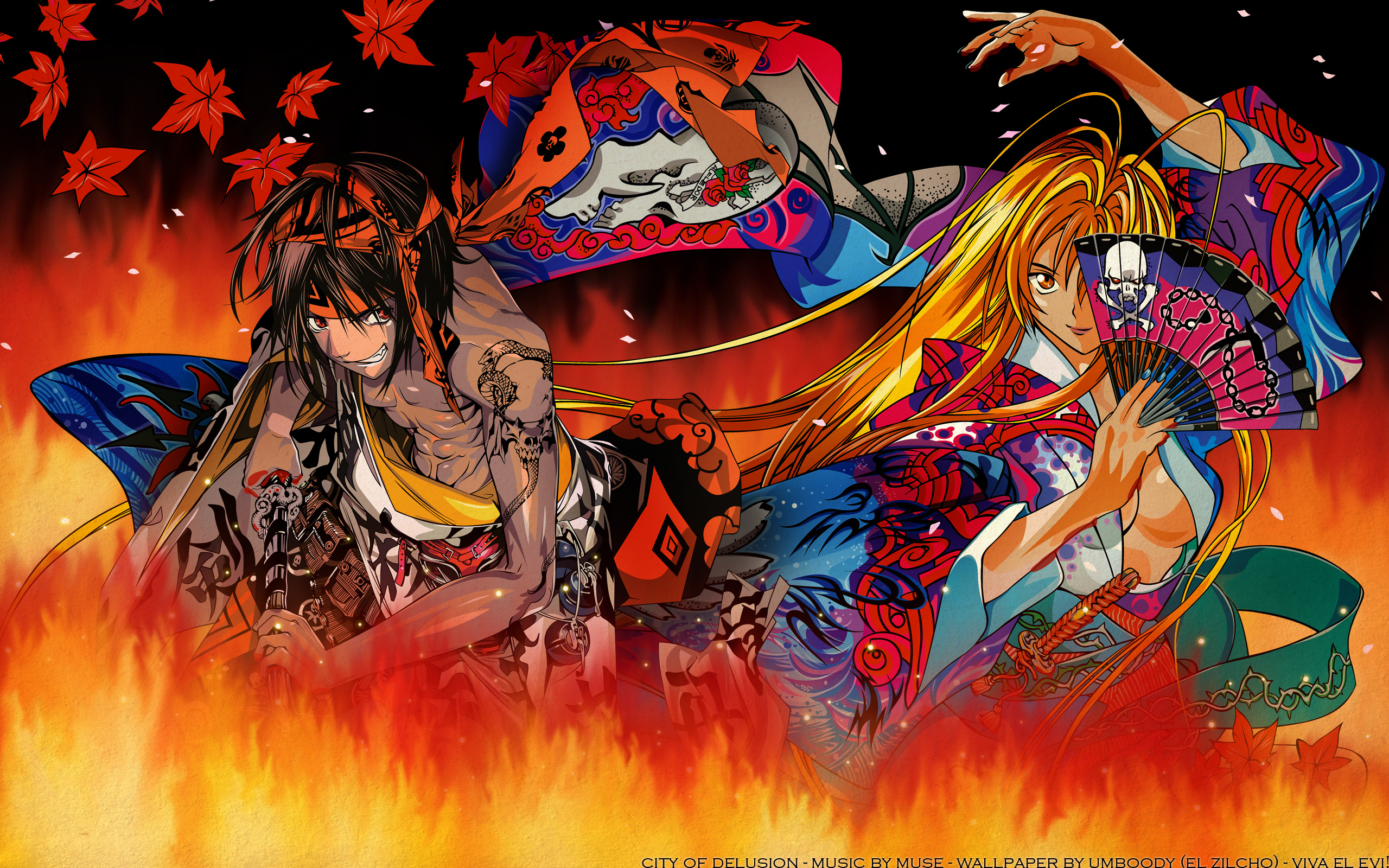 Tenjho Tenge Fighter Anime Wallpaper 02 | Imagez Only