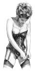 Pinup ART Dave Nestler 0098
