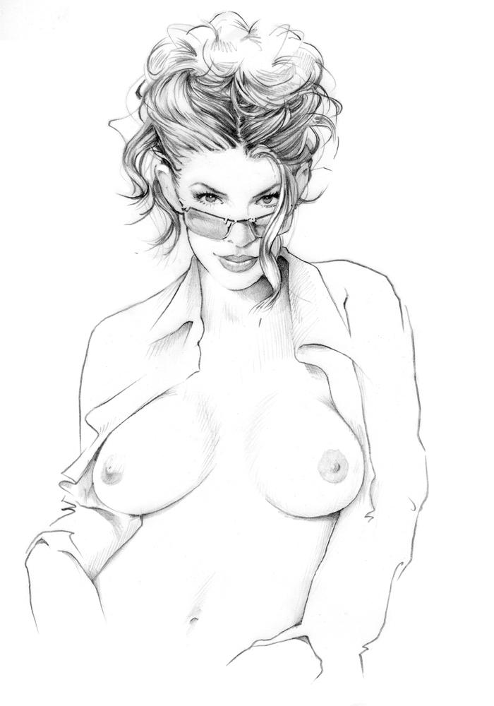 Beautiful Relaxing Nude Girl