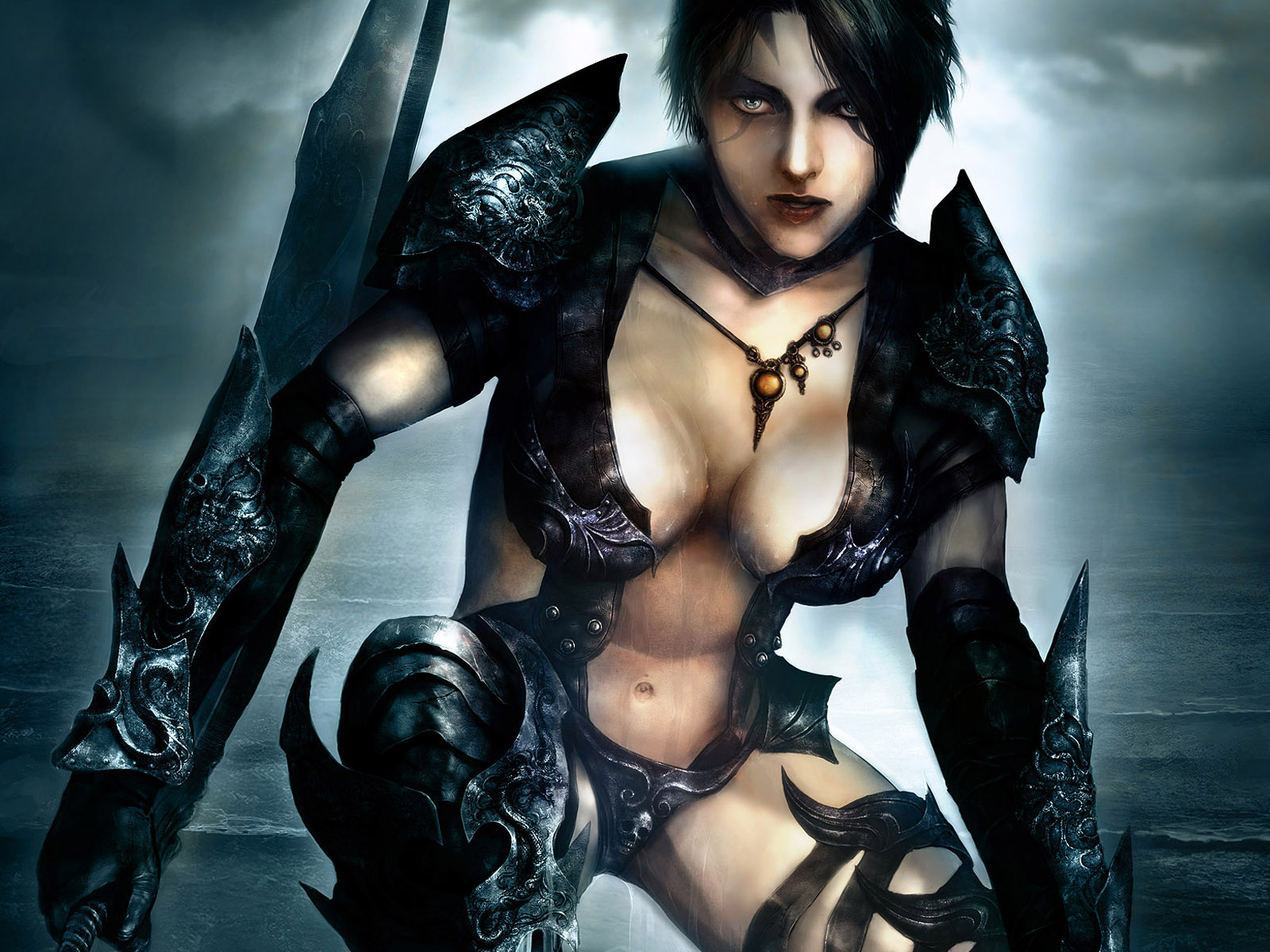 The kind fantasy gothic girl nude