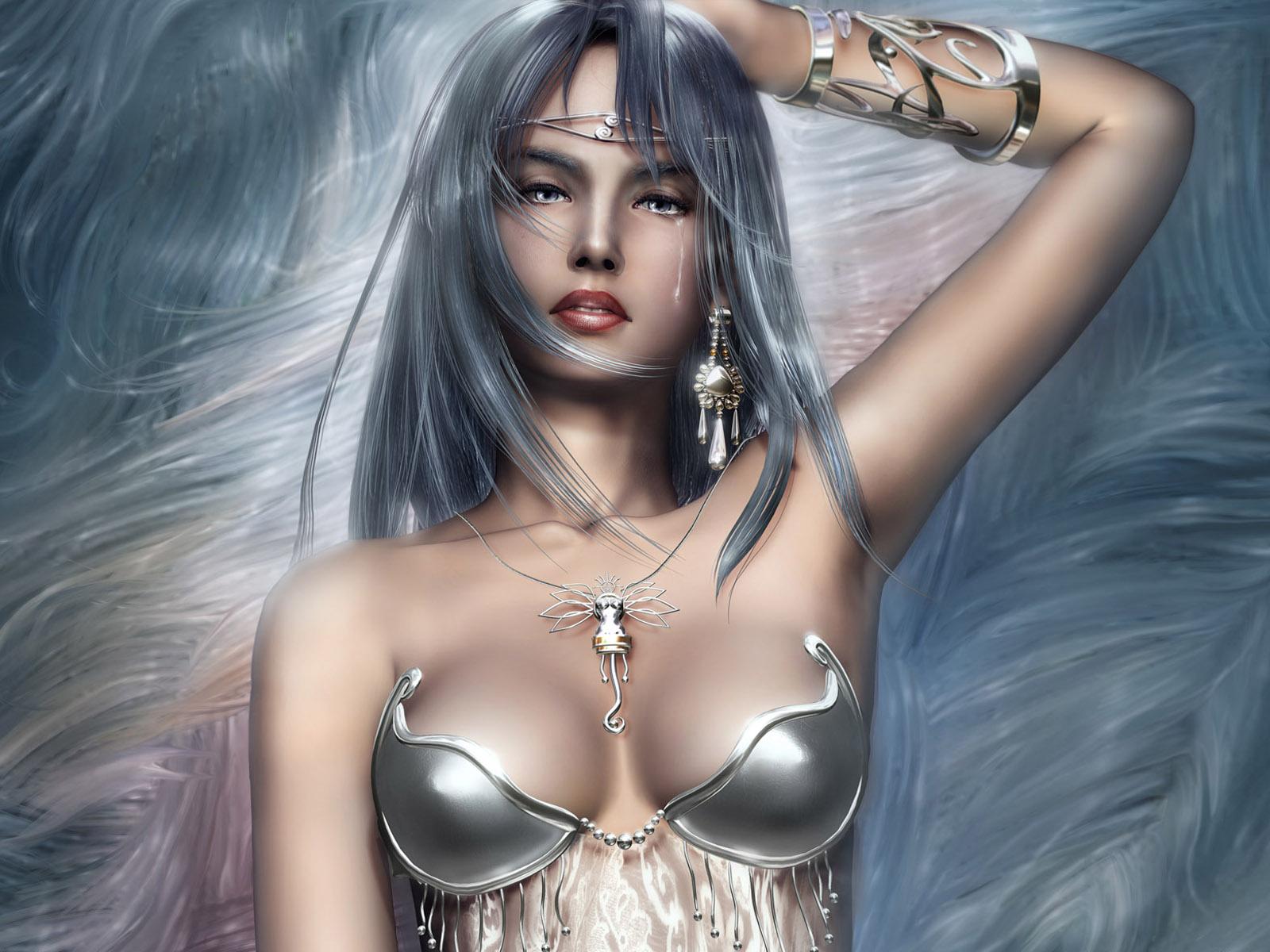 fantasy sexy hot woman