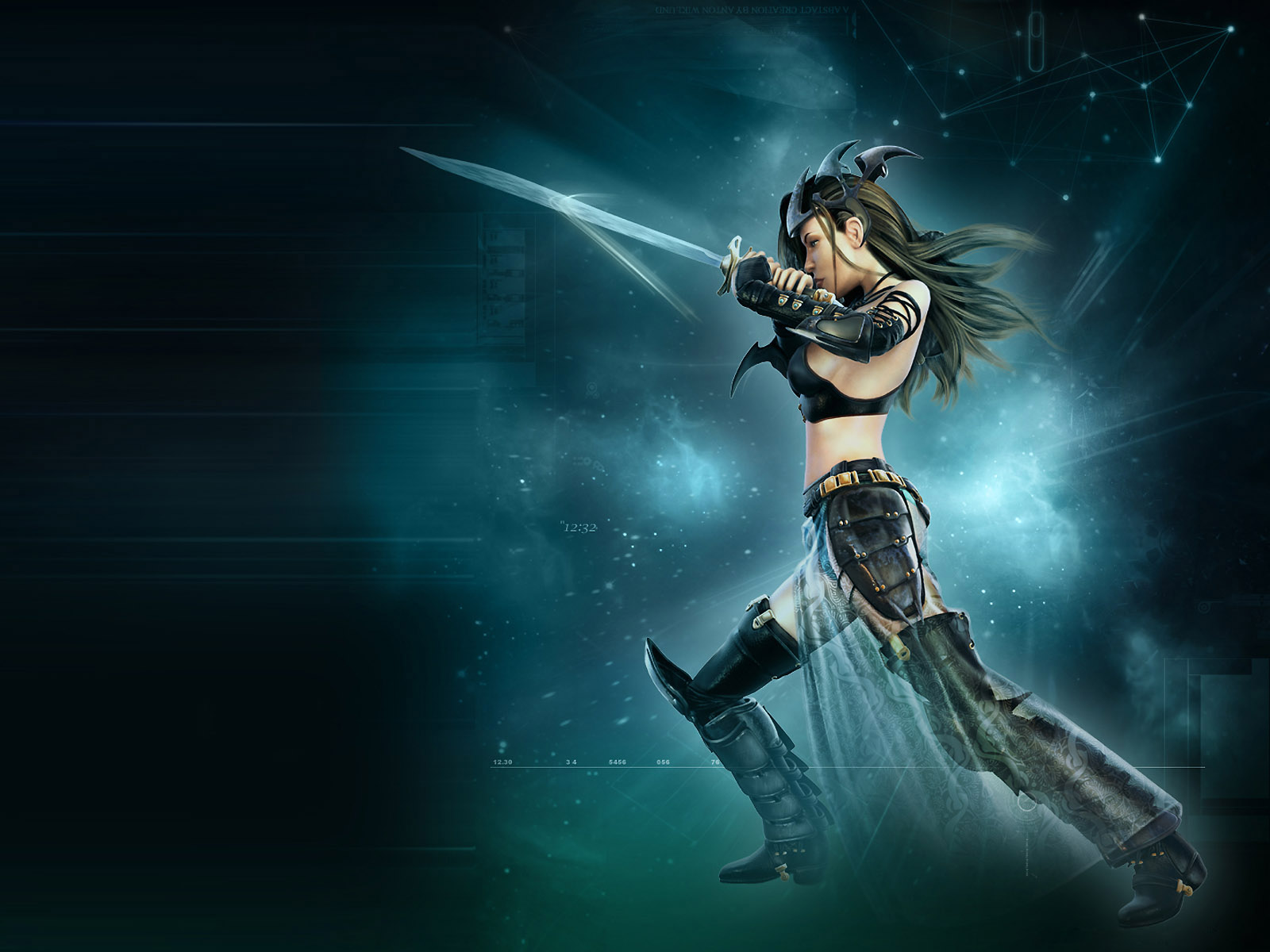 Hot 3d fantasy girls high resolution wallpaper 02 - 3d fantasy wallpaper ...