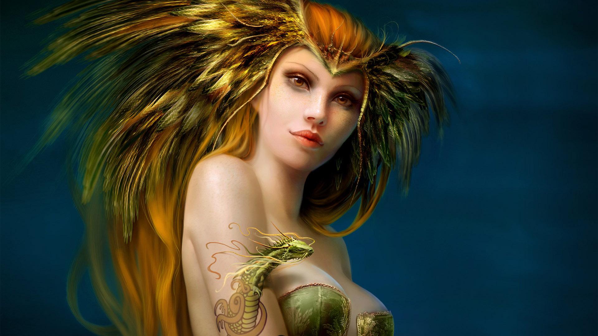 3D  Fantasy Girls Hd Wallpaper 03  Imagez Only-7677