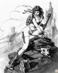 HD Pencil PinupArt Girls-017