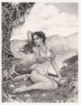 Pencil Pinup Art Sexy Drawings  466x600