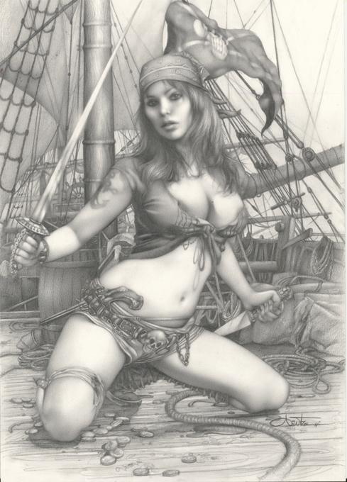 арт пиратки эротика удовольствием читается