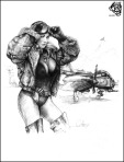 Pencil Pinup Art Sexy Drawings  777x1024